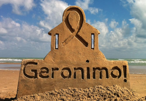 Award Winning Geronimo Sand Castle
